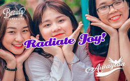 Forget Unhappiness Focus on these 3 Ways to Radiate Joy by Awayion Beauty