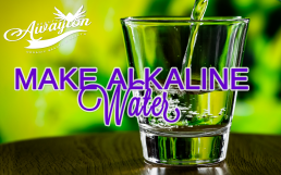 How to Make Alkaline Water by Awayion Beauty