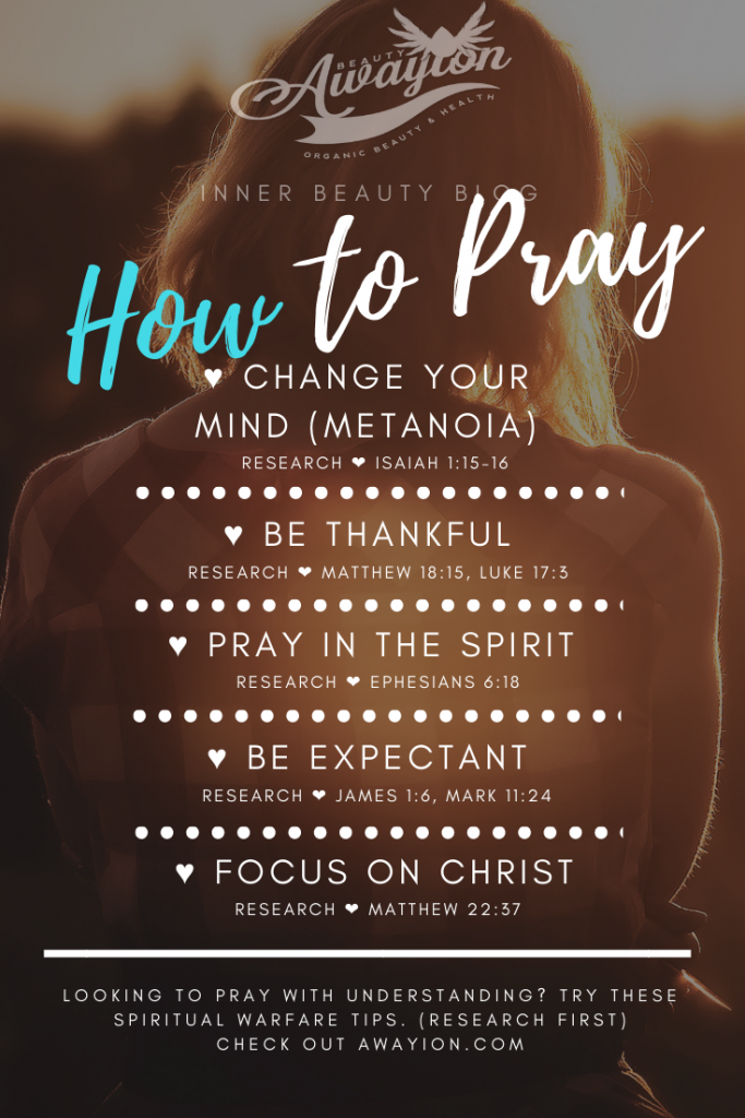 pray with understanding
