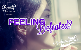 feeling defeated